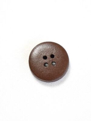 Пуговица коричневая с бежевыми вкраплениями на прокол (р1357) - Фото 11