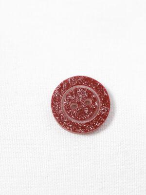 Пуговица пластик красная с блестками на прокол (р1361) - Фото 16