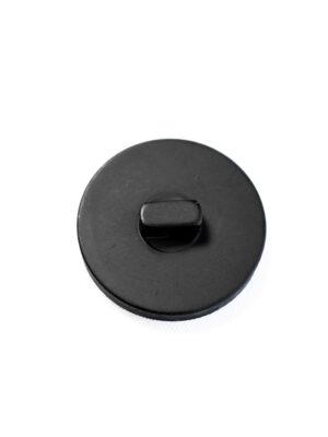 Пуговица пластик большая черная (р1364) - Фото 17