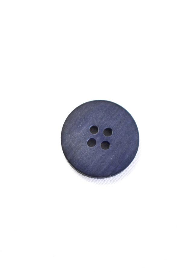Пуговица маленькая пластик синяя с черным ободком (р1365) - Фото 8