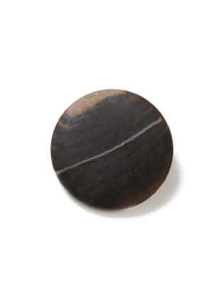 Пуговица большая темно-коричневая с разводами (р1381) - Фото 17
