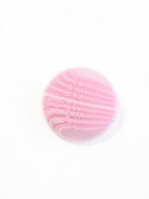 Пуговица большая нежно-розовая с разводами (р1382) - Фото 14