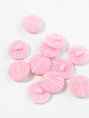 Пуговица большая нежно-розовая с разводами (р1382) - Фото 15
