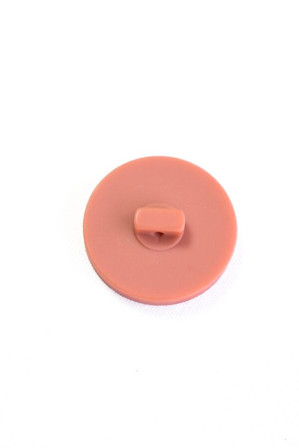 Пуговица пластик терракотовая на ножке (р1394) - Фото 8