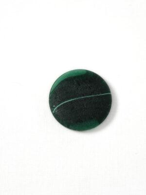 Пуговица большая темно-зеленая с разводами (р1401) - Фото 17
