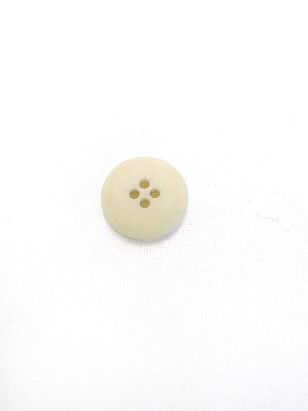 Пуговица пластик бежевая на прокол 18мм (р0785) к21 - Фото 8