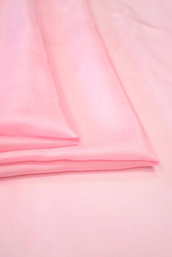 Шелк подкладочный розовый (7655) - Фото 8