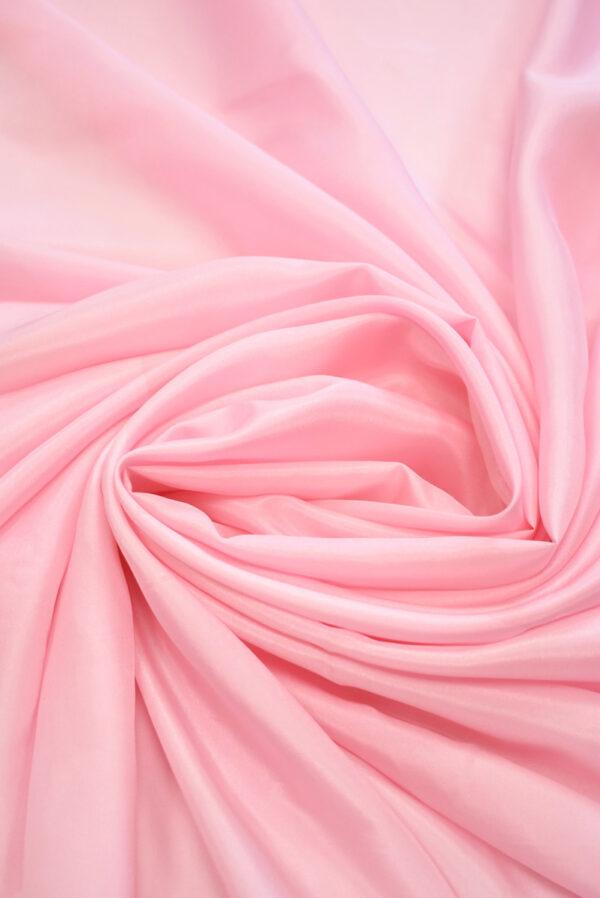 Шелк подкладочный розовый (7655) - Фото 7