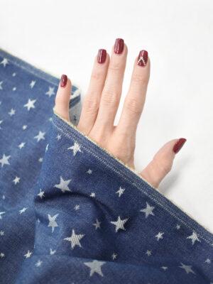 Джинс синий со звездочками (9216) - Фото 17
