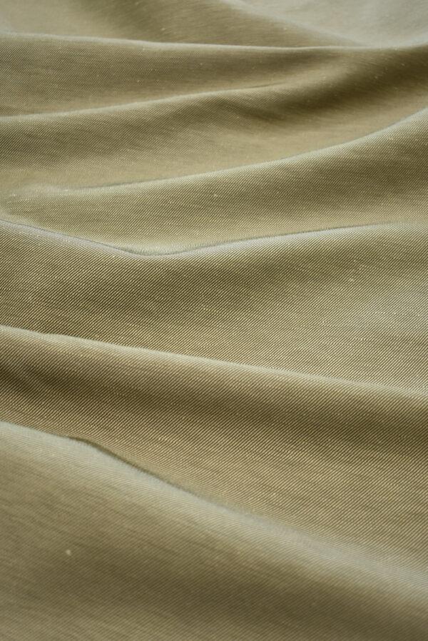 Костюмная ткань бежевая в рубчик (9244) - Фото 6