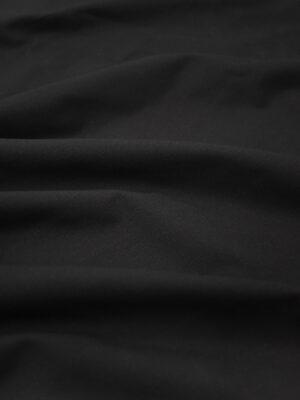 Костюмная ткань стрейч черная (9250) - Фото 14