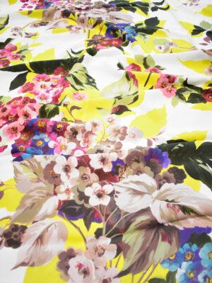 Кади с цветами и листьями на белом фоне (9297) - Фото 19