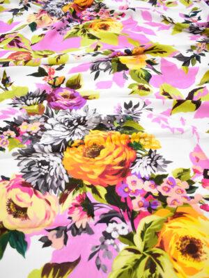 Кади крупные пионы на розово-белом фоне (9298) - Фото 15