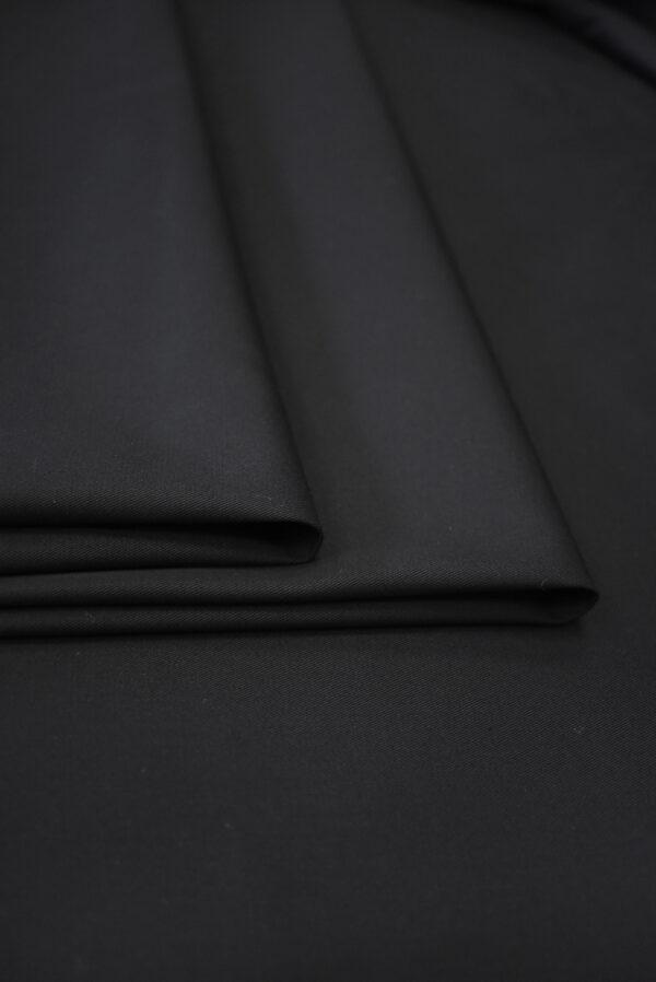 Хлопок черный костюмный (9315) - Фото 9