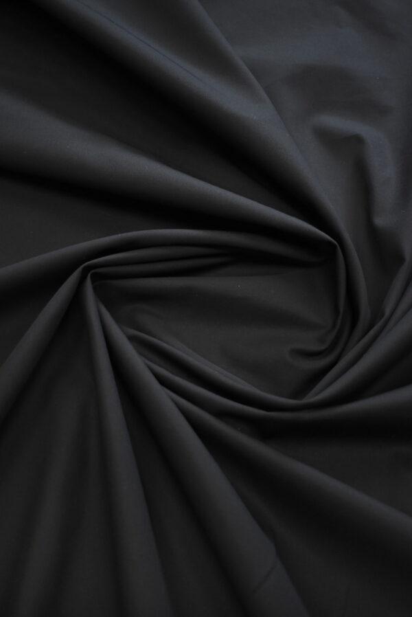 Хлопок черный костюмный (9315) - Фото 8