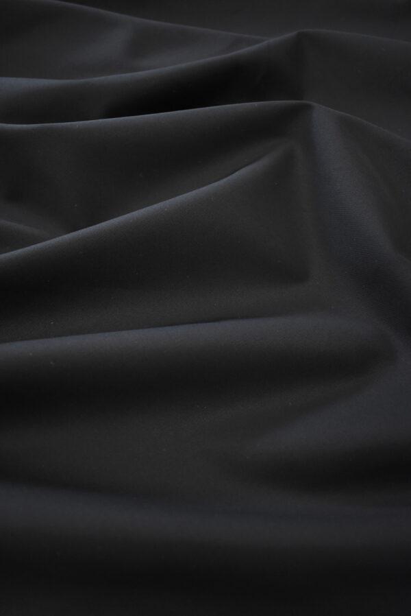 Хлопок черный костюмный (9315) - Фото 6