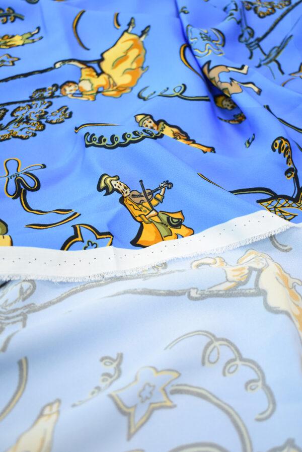 Креп бременские музыканты (9335) - Фото 8