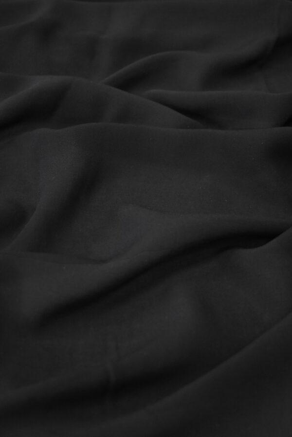 Штапель черного цвета (9360) - Фото 6