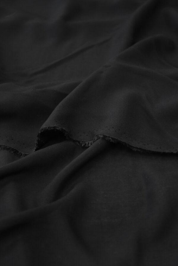 Штапель черного цвета (9360) - Фото 10