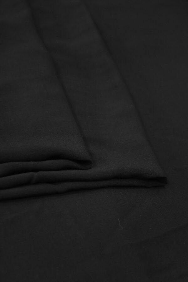 Штапель черного цвета (9360) - Фото 9