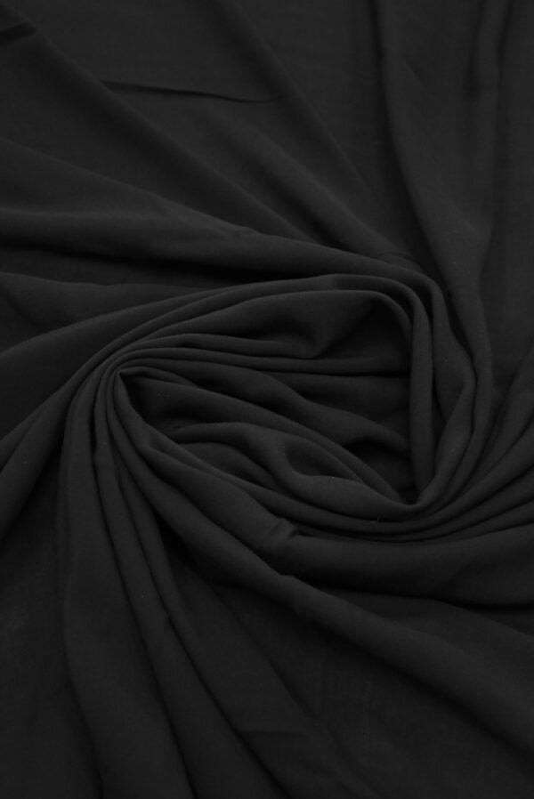 Штапель черного цвета (9360) - Фото 8