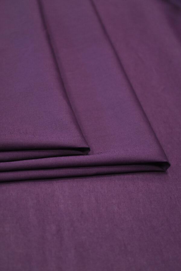 Хлопок фиолетового оттенка (9361) - Фото 8
