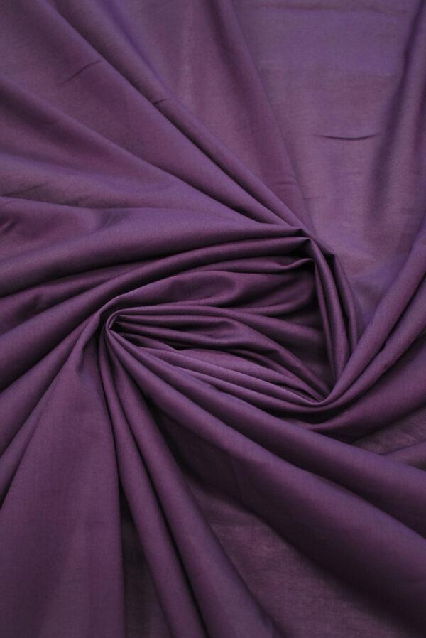 Хлопок фиолетового оттенка (9361) - Фото 7