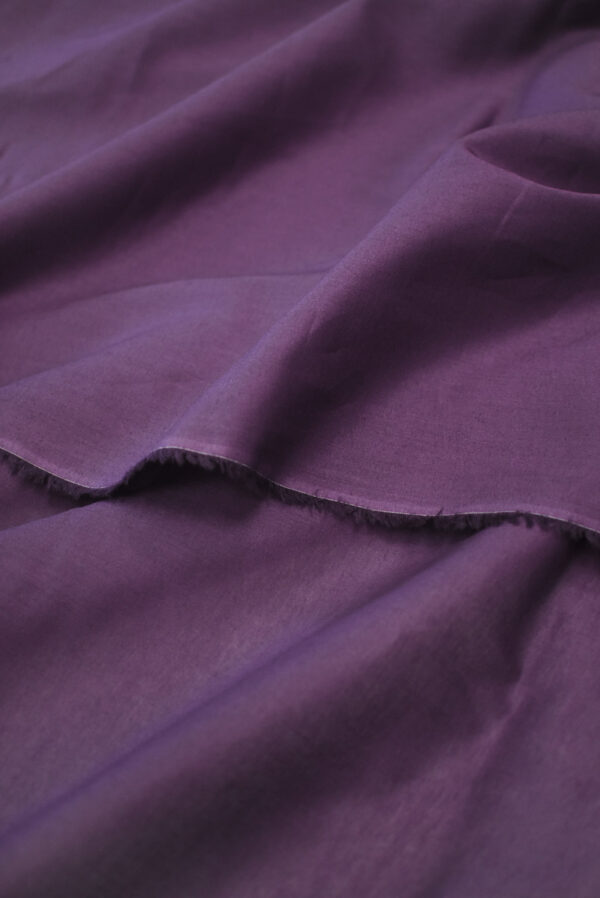 Хлопок фиолетового оттенка (9361) - Фото 9