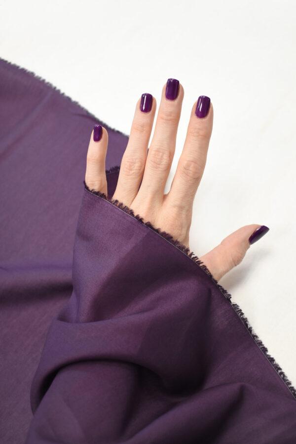 Хлопок фиолетового оттенка (9361) - Фото 10