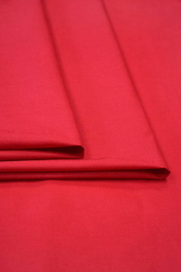 Хлопок красного оттенка (9364) - Фото 9