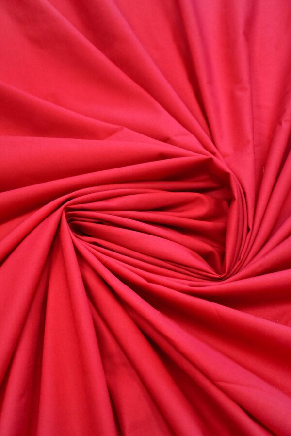Хлопок красного оттенка (9364) - Фото 8