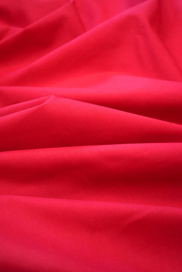 Хлопок красного оттенка (9364) - Фото 6