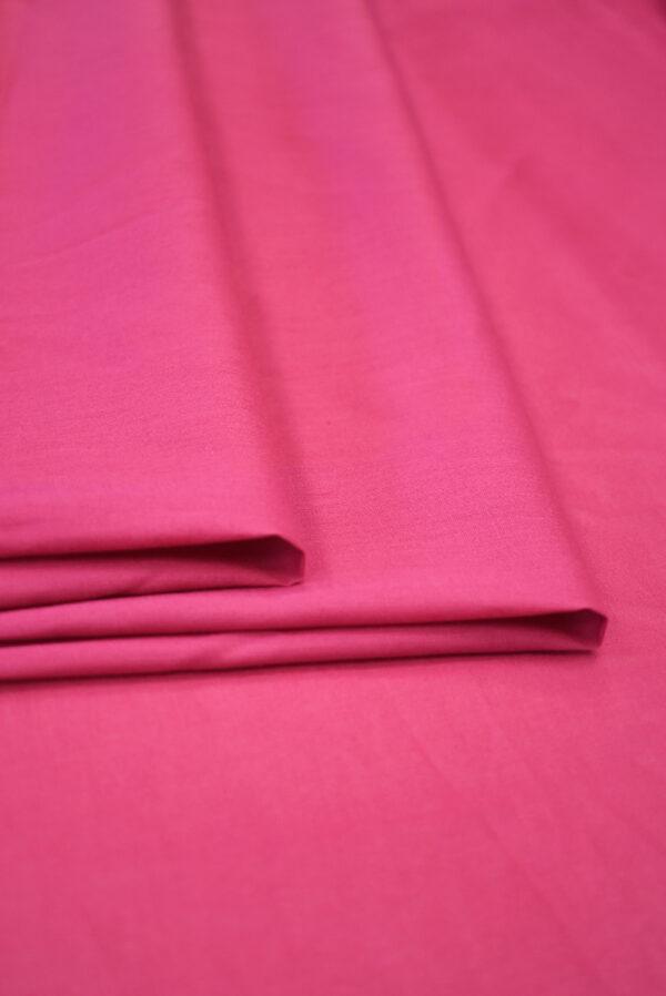 Хлопок темно-розового оттенка (9366) - Фото 8
