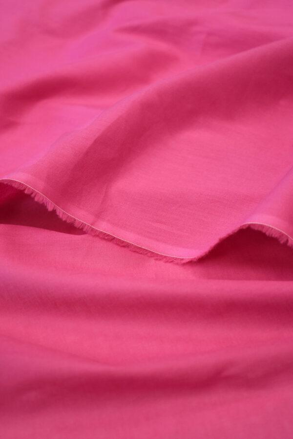 Хлопок темно-розового оттенка (9366) - Фото 10