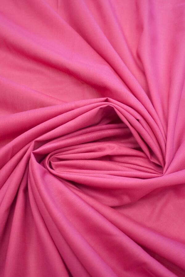 Хлопок темно-розового оттенка (9366) - Фото 9