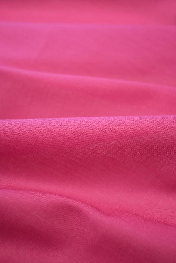 Хлопок темно-розового оттенка (9366) - Фото 11