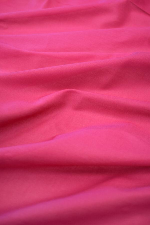 Хлопок темно-розового оттенка (9366) - Фото 6