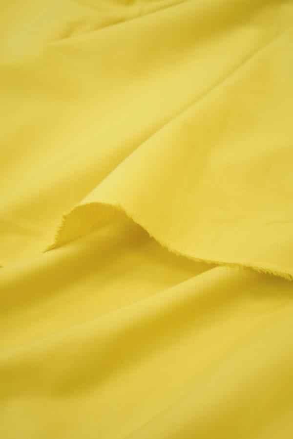 Хлопок желтого оттенка (9370) - Фото 10