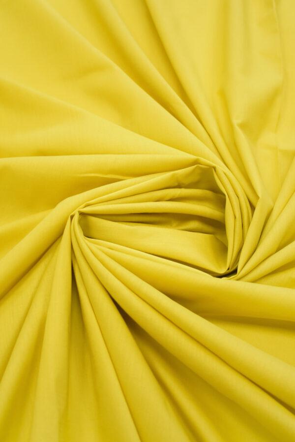 Хлопок желтого оттенка (9370) - Фото 9