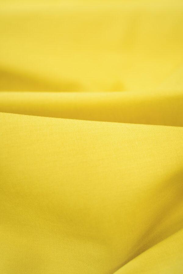 Хлопок желтого оттенка (9370) - Фото 11