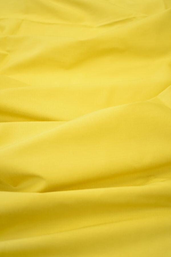 Хлопок желтого оттенка (9370) - Фото 6