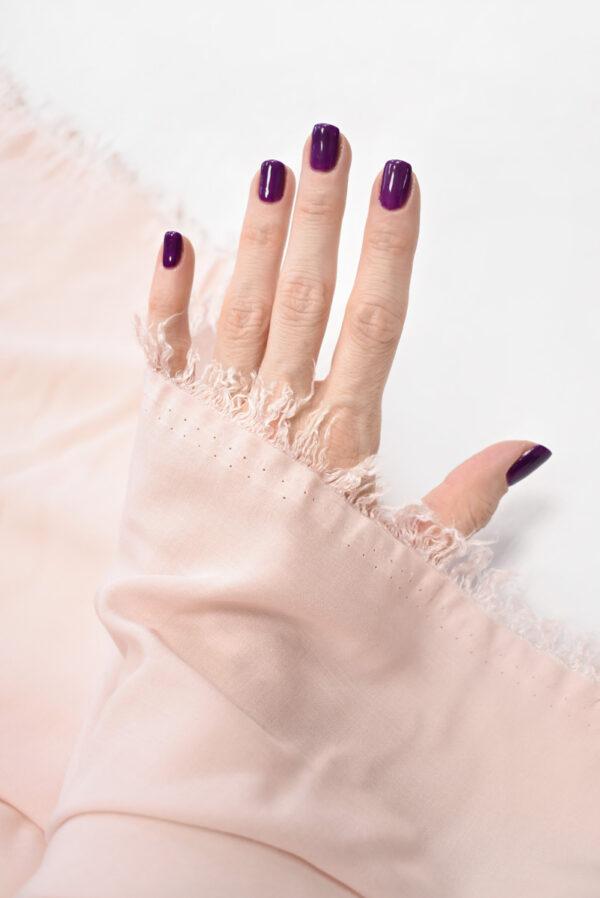 Штапель бледно-розовый (9377) - Фото 7