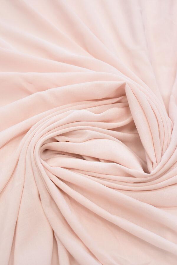 Штапель бледно-розовый (9377) - Фото 8