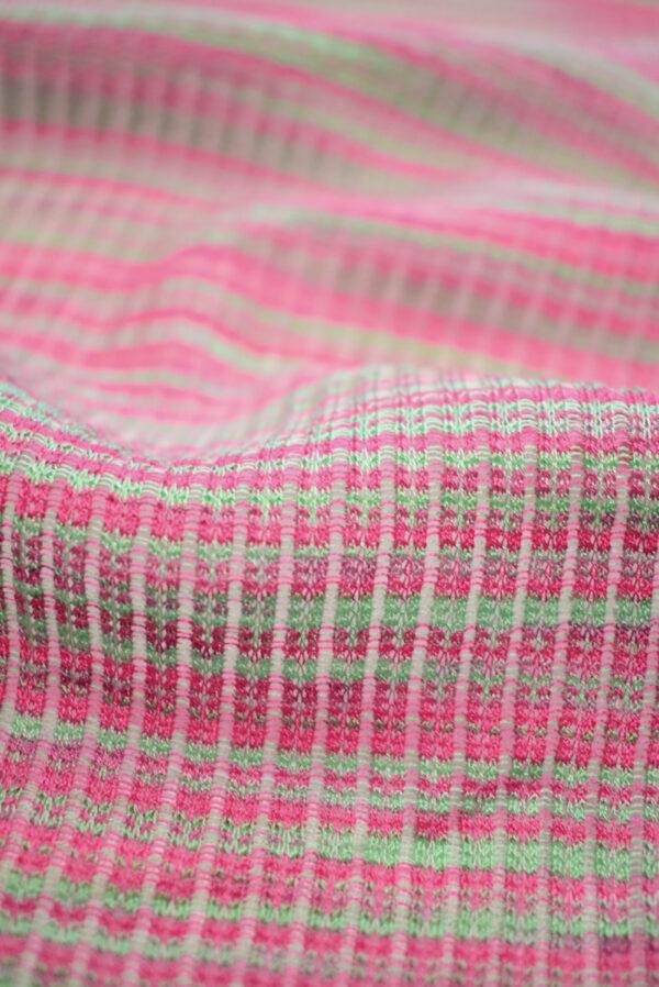 Кашкорсе в зеленых и розовых оттенках (9378) - Фото 10