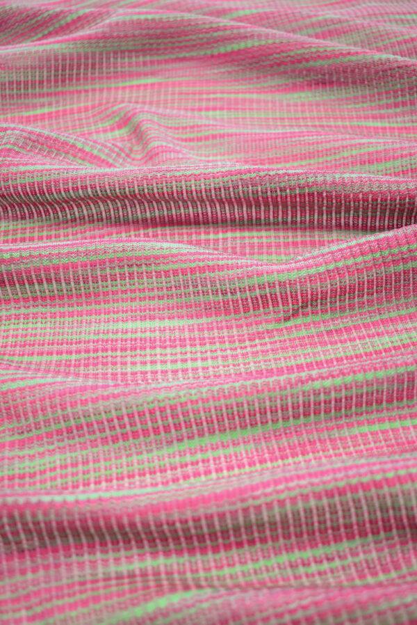 Кашкорсе в зеленых и розовых оттенках (9378) - Фото 6