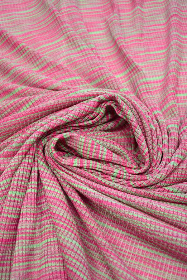 Кашкорсе в зеленых и розовых оттенках (9378) - Фото 9