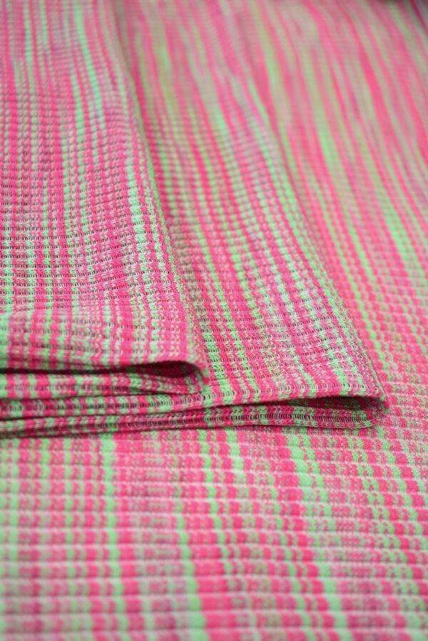 Кашкорсе в зеленых и розовых оттенках (9378) - Фото 8