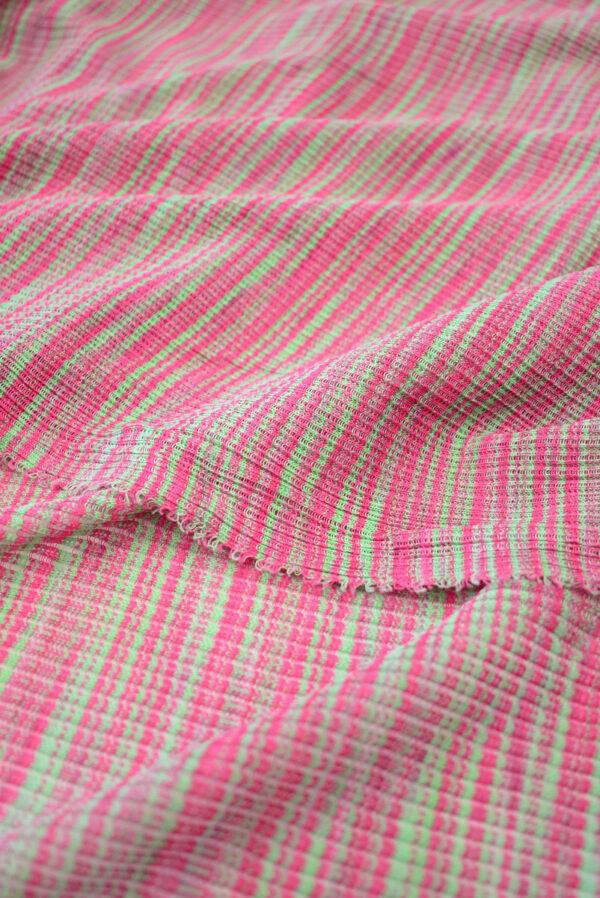 Кашкорсе в зеленых и розовых оттенках (9378) - Фото 11