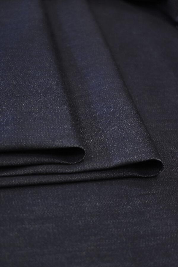 Джинс стрейч оттенок черника (9379) - Фото 10