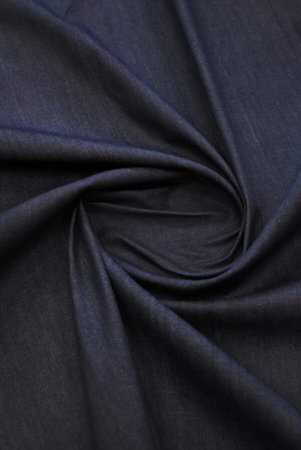 Джинс стрейч оттенок черника (9379) - Фото 9